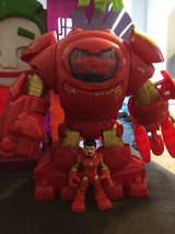 Superman House and Ironman Robot Imaginext in Fort Campbell, Kentucky