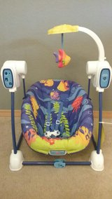 Fisher-Price space saver swing and seat in Olympia, Washington