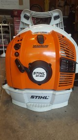 STIHL BR600 MAGNUM Backpack Blower in Lockport, Illinois