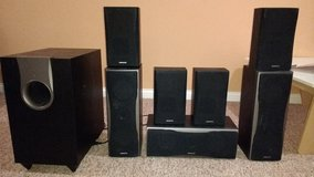 Home Theater (Onkyo HT-R550/7.1/1000 W/ipod Comparable/Full HD) in Lockport, Illinois