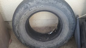 REDUCED Used Truck tire Nexen P265/70R/16 in 29 Palms, California