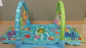 Fisher-Price ocean wonders kick and crawl 3 in 1 activity play mat in Olympia, Washington