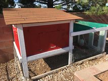 Chicken coop in Alamogordo, New Mexico