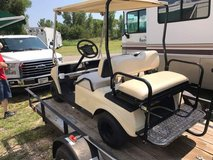 Golf cart in Lawton, Oklahoma