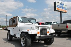 1993 Jeep Wrangler 4X4 #10699 in Fort Knox, Kentucky