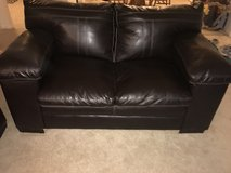 Leather couch and love seat in Elizabethtown, Kentucky