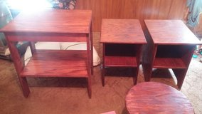 Real wood table's in Camp Lejeune, North Carolina