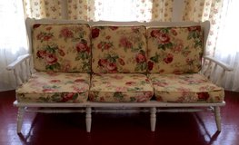 Vintage Settee~Cottage Chic~Roses in Fort Polk, Louisiana