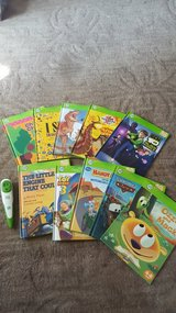 leap frog tag reader and 10 books in Naperville, Illinois
