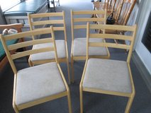 SET OF KITCHEN CHAIRS in New Lenox, Illinois