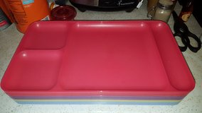 Tupperware try plates compartment plates 7 in Aurora, Illinois