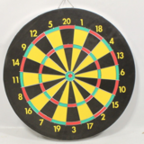 18 inch metal rimmed DART BOARD with 6 darts in Houston, Texas