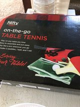 Table tennis. New in Sandwich, Illinois