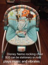 finding nemo baby bouncer rocker chair in Morris, Illinois
