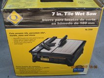 7 In. Tile Wet Saw in Fairfield, California