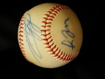 Greg Maddux/Mark Prior Autographed Baseball in New Lenox, Illinois