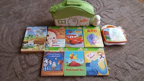 leapfrog tag reader Junior 6 books carrying case in Naperville, Illinois