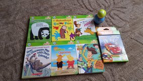 leapfrog tag reader Junior 7 books in Aurora, Illinois