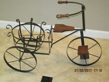Bicycle Planter with Metal & Wood in Fairfield, California