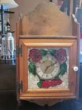 Hand made stained glass clock in Fairfield, California
