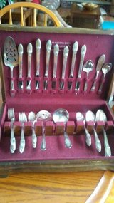 "Silverplated Flatware  ""First Love"" 1847 Rogers Bros in Naperville, Illinois"