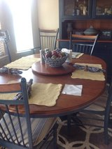 Kitchen table and hutch in Fort Bliss, Texas