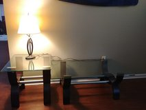 coffee table, end table, and lamp in Camp Lejeune, North Carolina