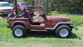 1987 Jeep YJ Wrangler 4x4 in The Woodlands, Texas