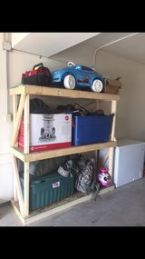 garage shelf in Fort Riley, Kansas