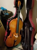 Full size cello (case, bows, stand included) in Clarksville, Tennessee