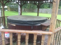 Hot tub ,seats 4 ,with cover, and steps in Conroe, Texas