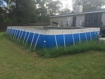 FOR SALE . SPLASH Super Pool 17 FT .x 30 FT X 4 FT .  COMES WITH ; LATTER , 2 HIGH PROFORMANCE P... in Kingwood, Texas