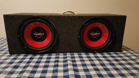 "2 12"" Subs in Box + Alpine Amp in Brookfield, Wisconsin"