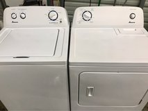 Amana matching washer and dryer set in Clarksville, Tennessee