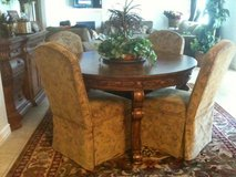 REDUCED! Ashley Furniture--Wood Dinning/Kitchen Table, 4x Chairs, Buffet in Davis-Monthan AFB, Arizona