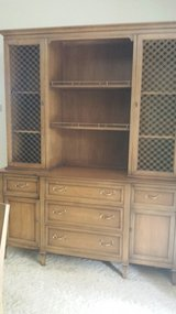 China cabinet in Fort Knox, Kentucky