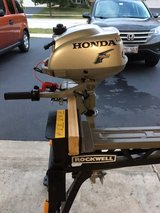 Honda 2HP Four Stroke Outboard Motor in Bolingbrook, Illinois
