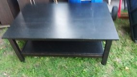 "Big black coffee table 46x30"" 18"" tall in Fort Riley, Kansas"