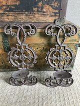 Iron Candle Sconces in Naperville, Illinois