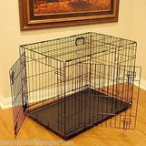 Small Wire Kennel in Fort Polk, Louisiana
