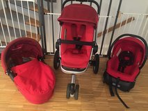 Quinny Buzz Stroller with Bassinet in Stuttgart, GE