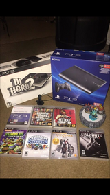 PS3, DJ hero, ear piece and 7 games in San Clemente, California