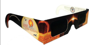 SOLAR ECLIPSE  GLASSES - 3 available in Naperville, Illinois