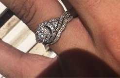 engagement ring set in Camp Pendleton, California