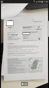Gamescom day tickets thurstay/ friday in Ramstein, Germany