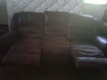 Microfiber couch and loveseat in Kingwood, Texas