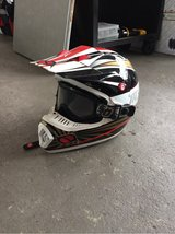 motocross helmet  size lg in Ramstein, Germany