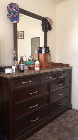dresser with mirror in Lawton, Oklahoma
