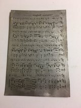 Vintage Printing Plate in Naperville, Illinois