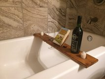 bathtub table in Lackland AFB, Texas